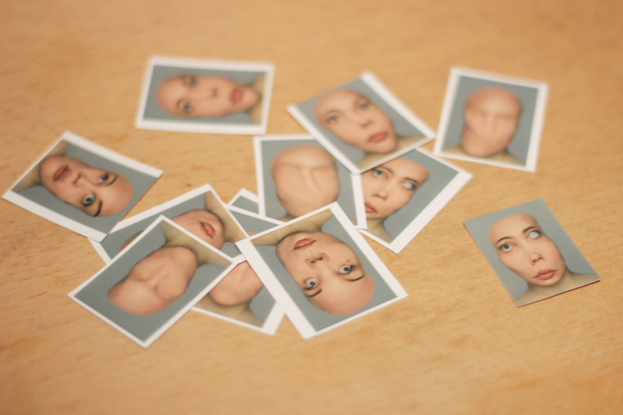 Rasterize, Polarize: passport photos on my desk